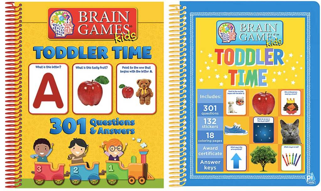 brain game books for toddlers stock images