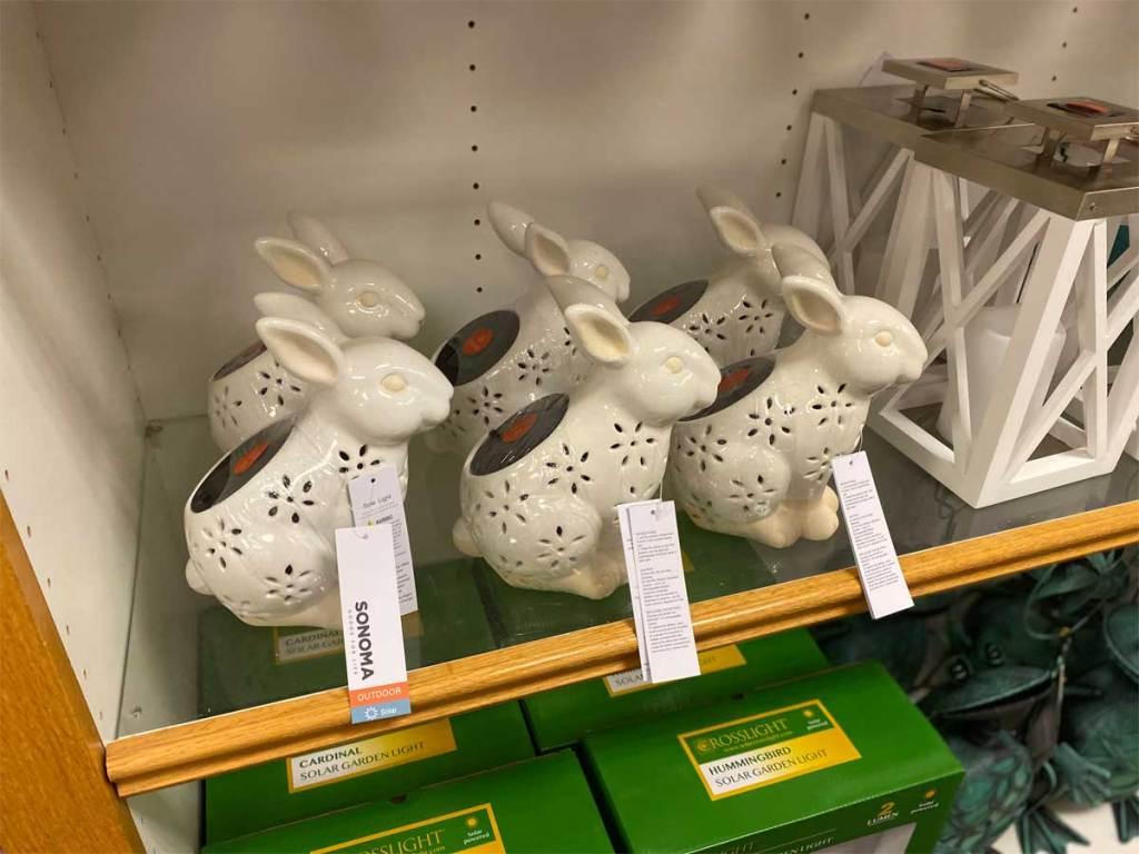Sonoma Goods for Life Ceramic Bunny Lantern