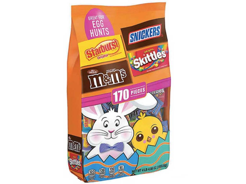 Mars Fruity & Chocolate Easter Candy Assortment 170ct