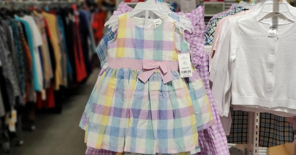 carter's girl dresses
