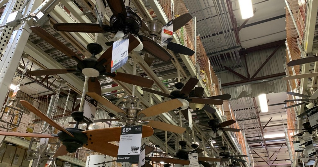 ceiling fans in store