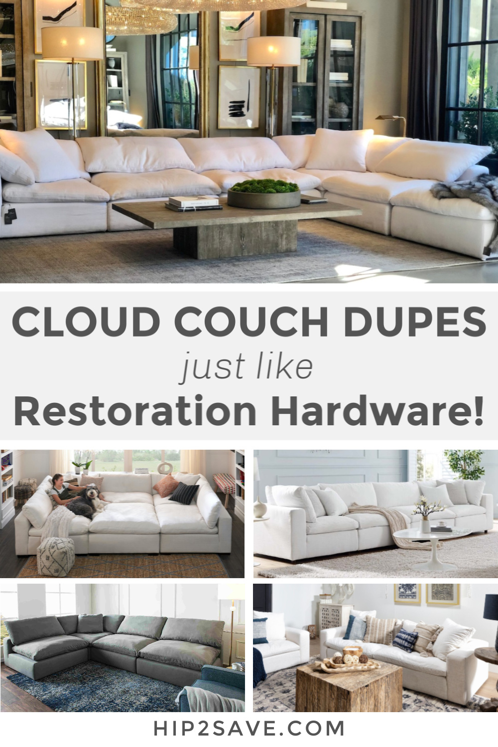 cloud couch dupe