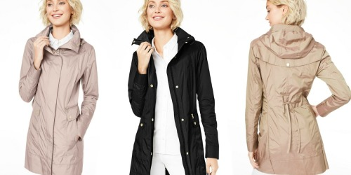 Cole Haan Women's Raincoats Only $59.99 on Zulily (Regularly up to $200)