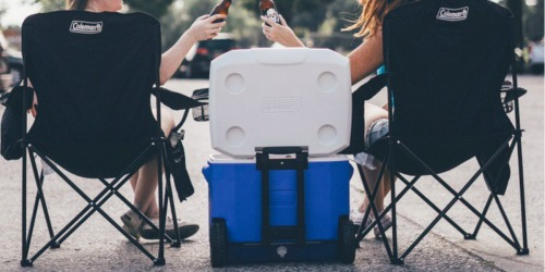 Coleman 60-Quart Wheeled Cooler Only $24.45 on Amazon (Regularly $50)