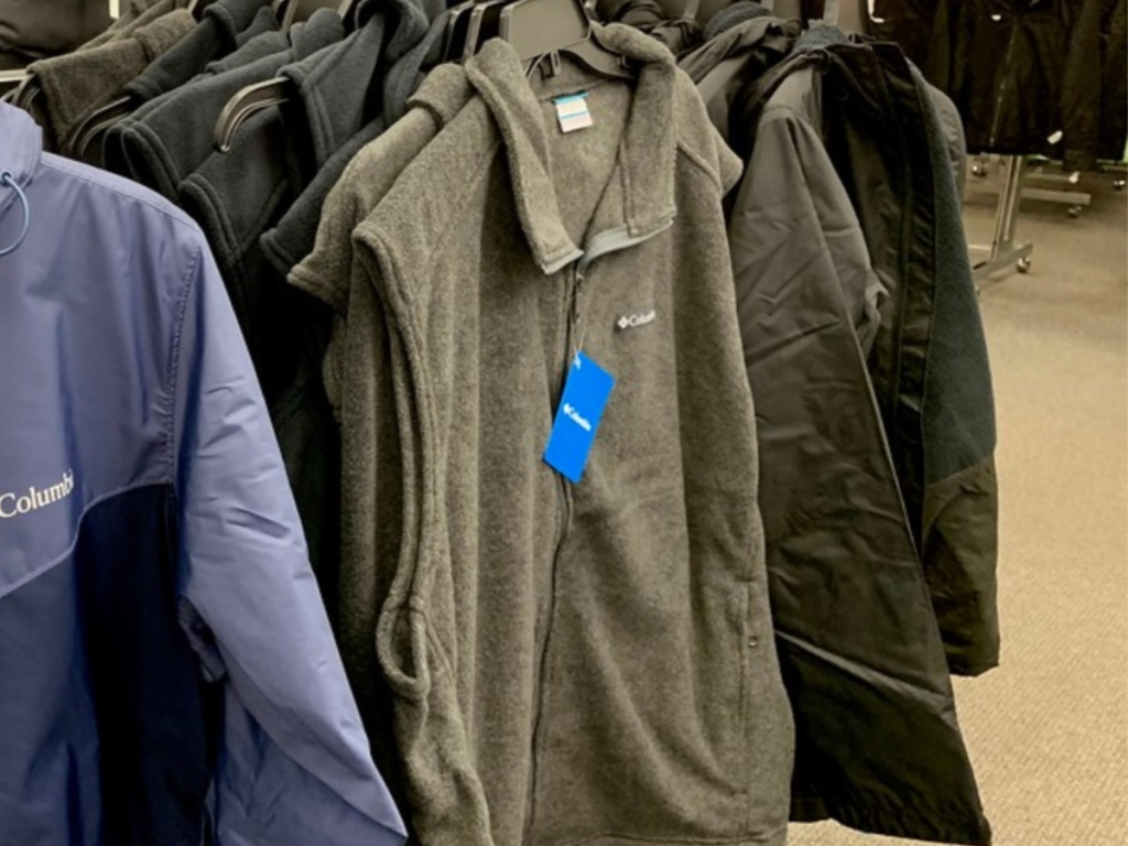 columbia mens vest