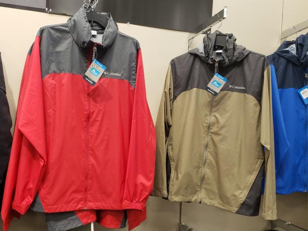 columbia waterproof lightweight jacket