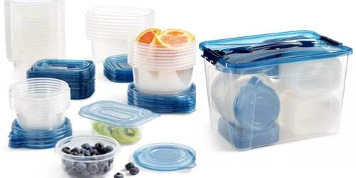 Food Storage 100-Piece Set Just $14.99 on Macy's.com | Perfect for Holiday Leftovers
