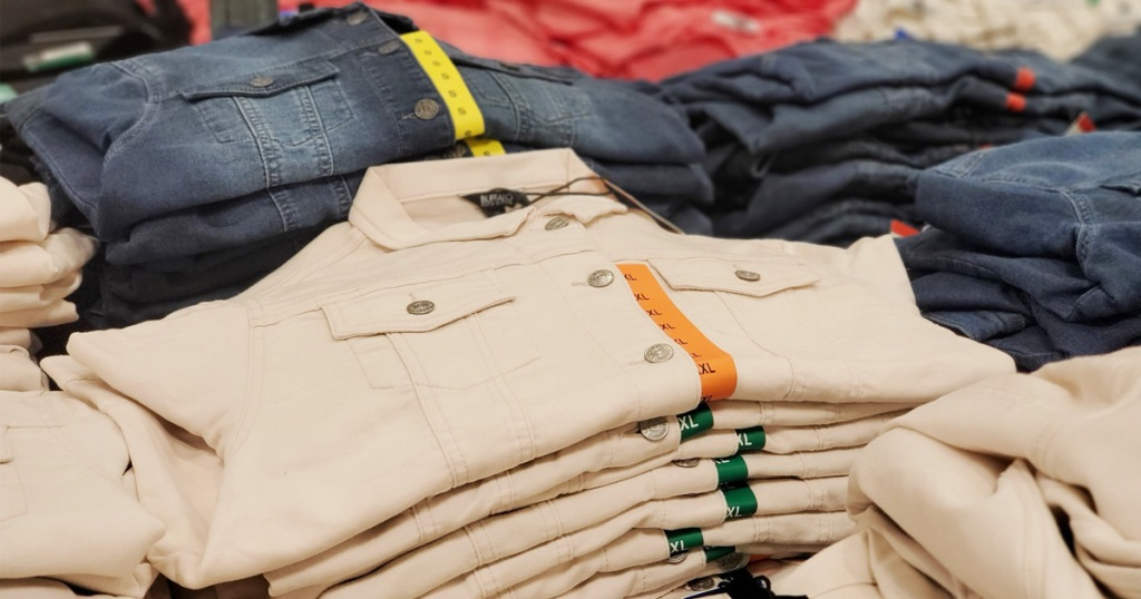 costco denim jackets