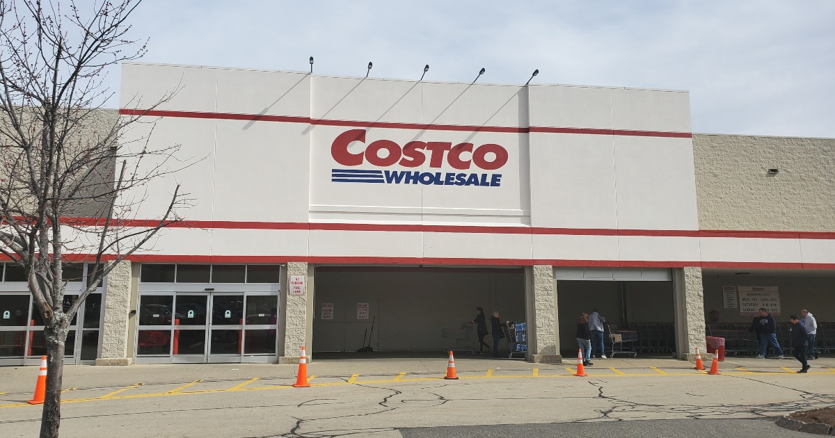 Exterior of Costco warehouse