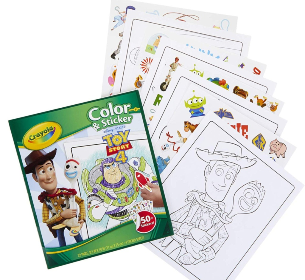 crayol coloring pages toy story