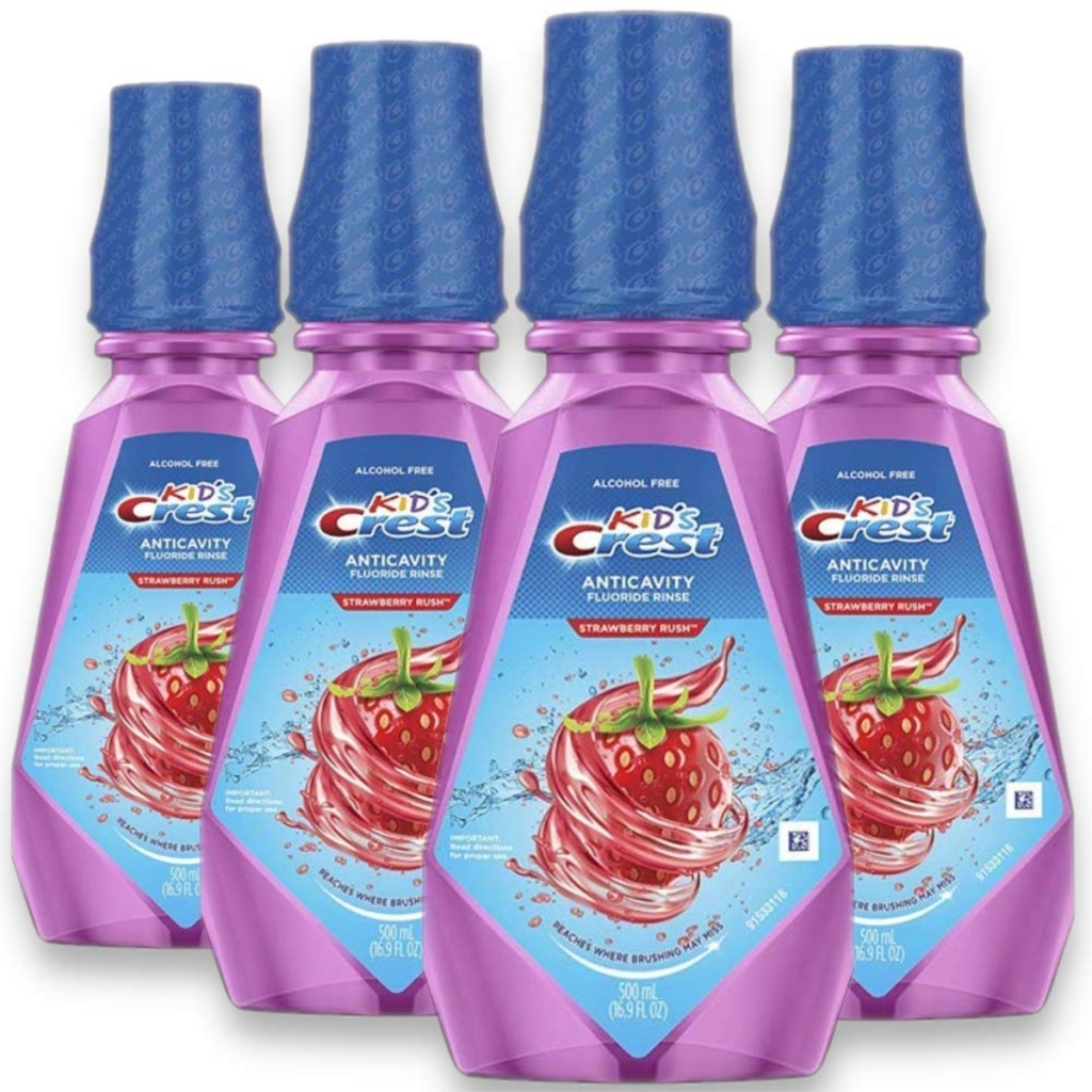 crest kids rinse product display