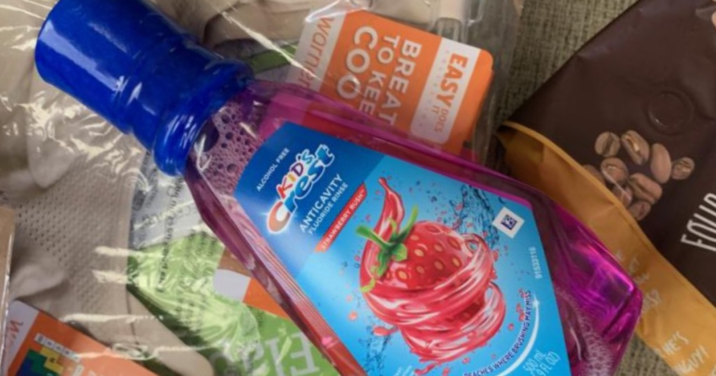 crest kids strawberry punch rinse