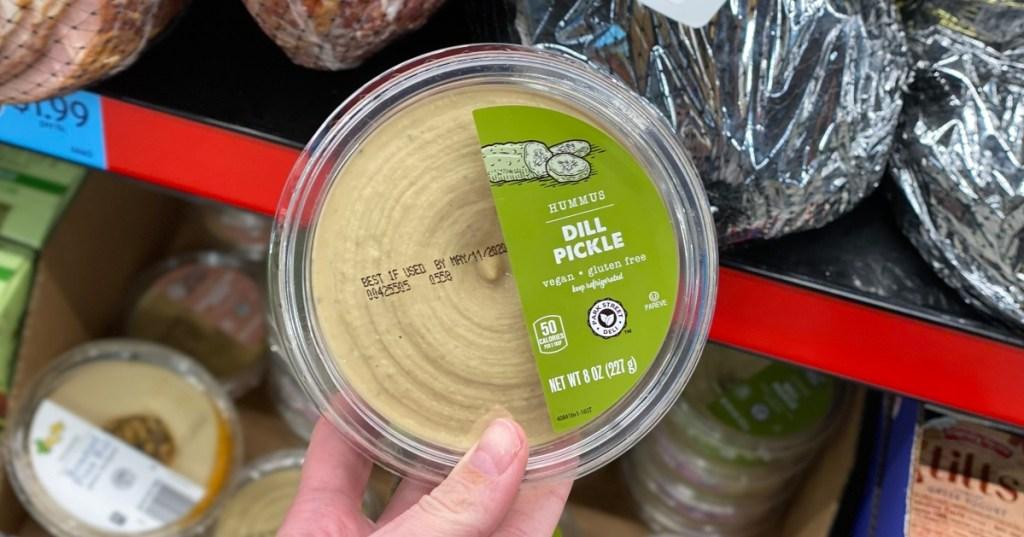 Dill Pickle Hummus at ALDI