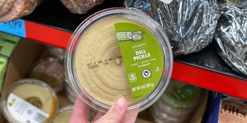ALDI is Selling Dill Pickle Hummus & It's Just $1.89