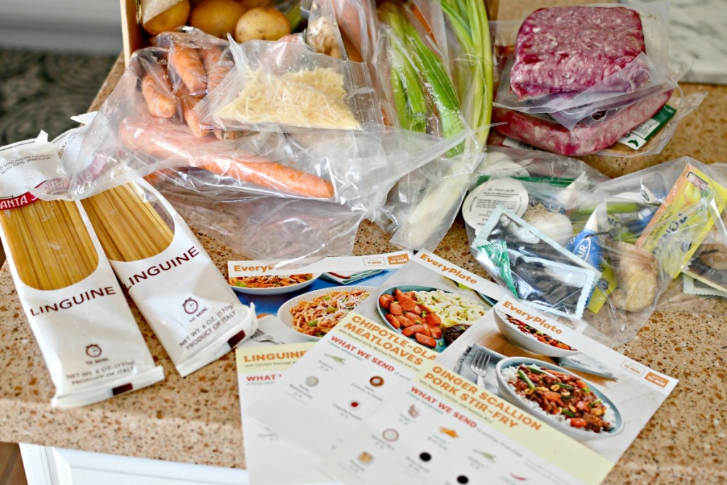 fresh vegetables, pasta, groceries