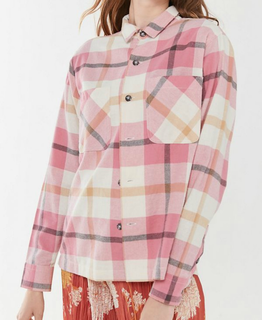 flannel top urban outfitters