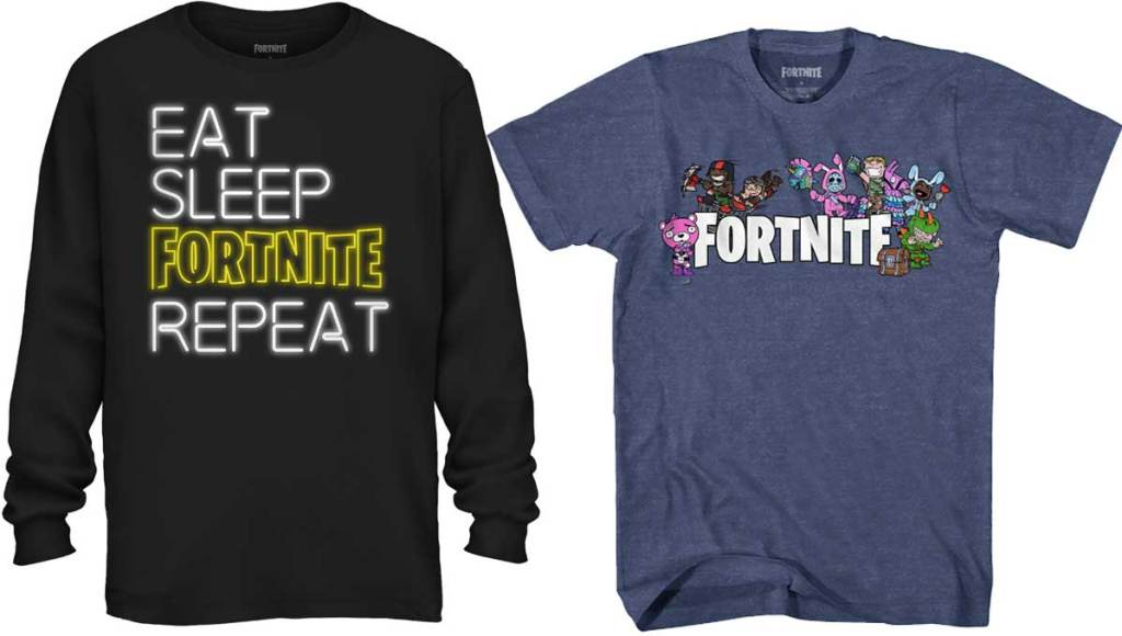 fortnite long and short sleeve shirts