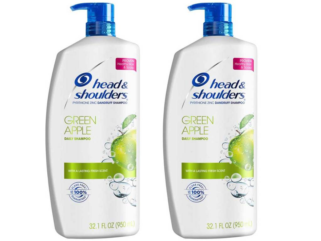 Two bottles of head and shoulders