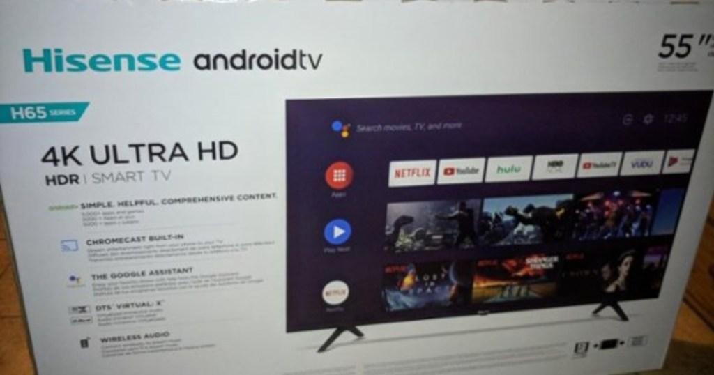 Hisense android tv box