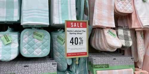 40% Off New Spring Decor at Hobby Lobby