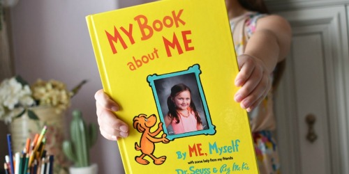 My Book About Me (Start This Dr. Seuss Tradition & Create a Priceless Keepsake)