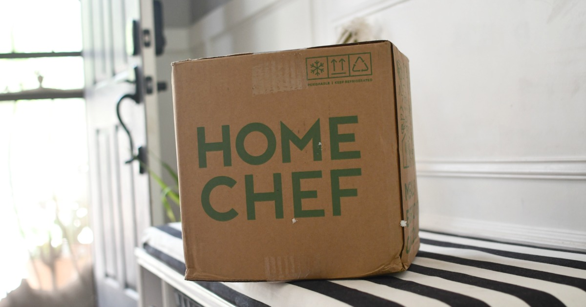 home chef box delivered