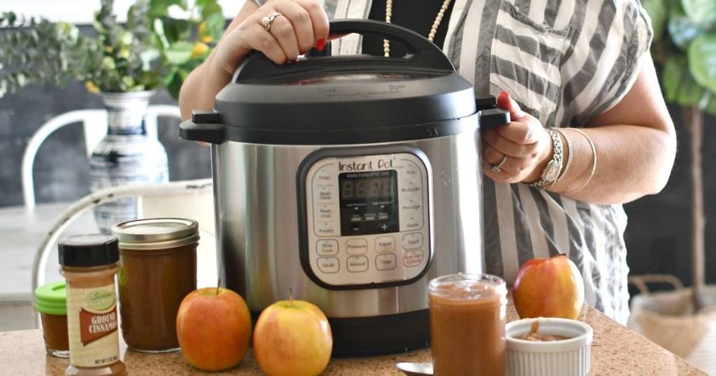 instant pot apple sauce