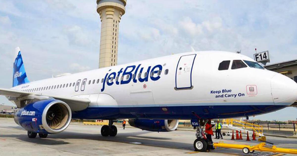 JetBlue Airplane on tarmac