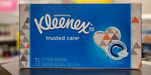 Kleenex Tissues Possibly Only 49¢ at CVS