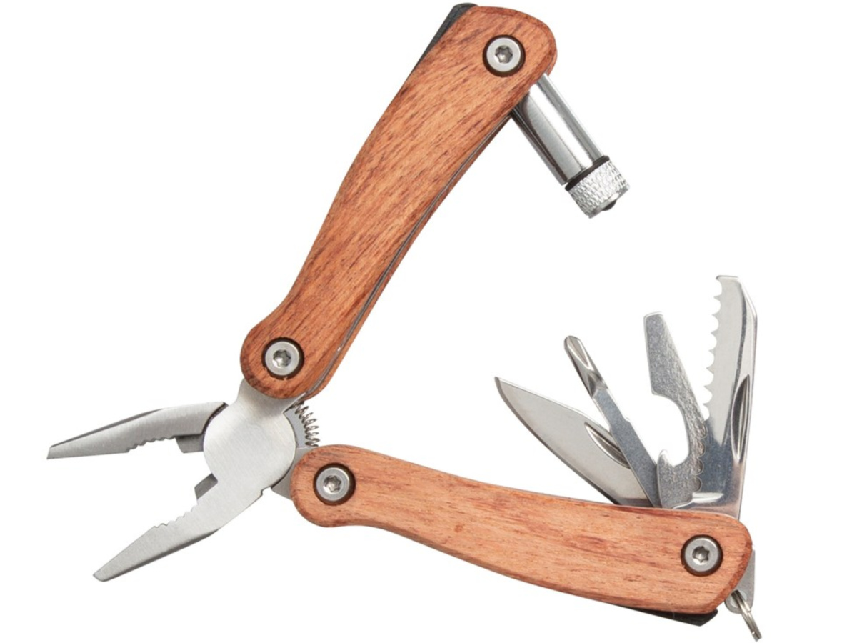 wooden handled multi-use tool