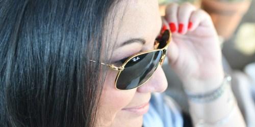 50% Off Ray-Ban Sunglasses + FREE Shipping