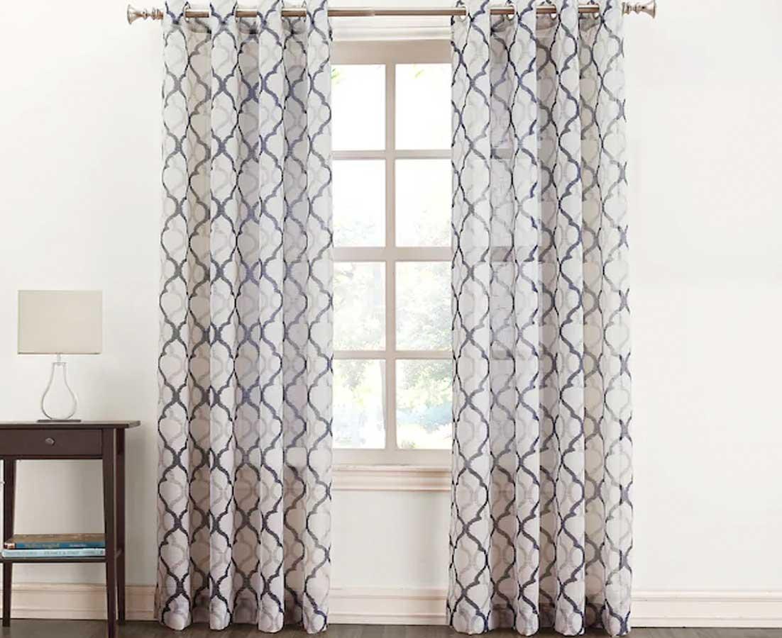 Sonoma Goods for Life Lona Semi-Sheer Window Curtain