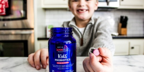 LoveBug Kids Chewable Probiotics 30-Count Just $11.96 Shipped on Amazon | Digestive & Immune Support