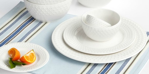 16-Piece Dinnerware Sets Only $18.74 on Macy's (Regularly $70)