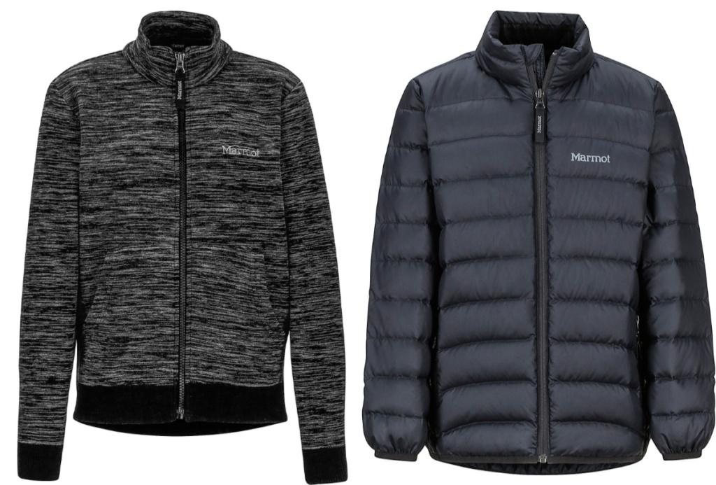 marmot black jackets