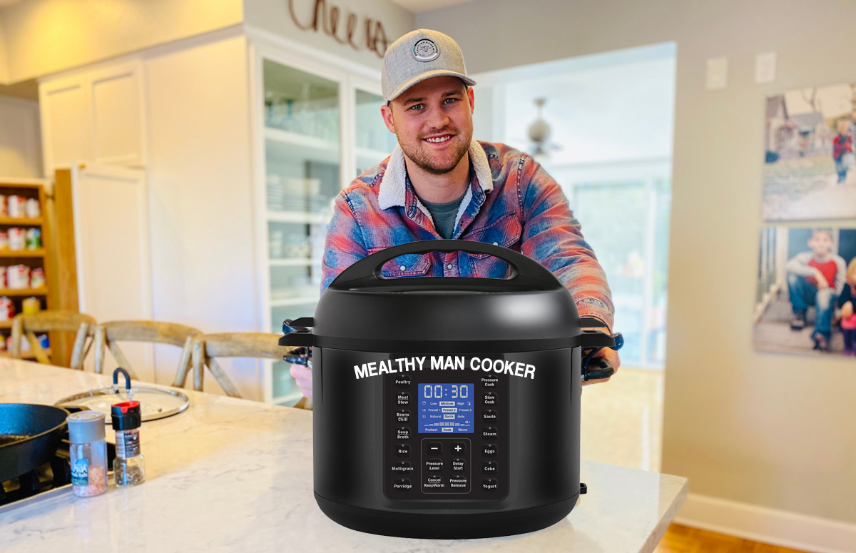 mealthy cooker man