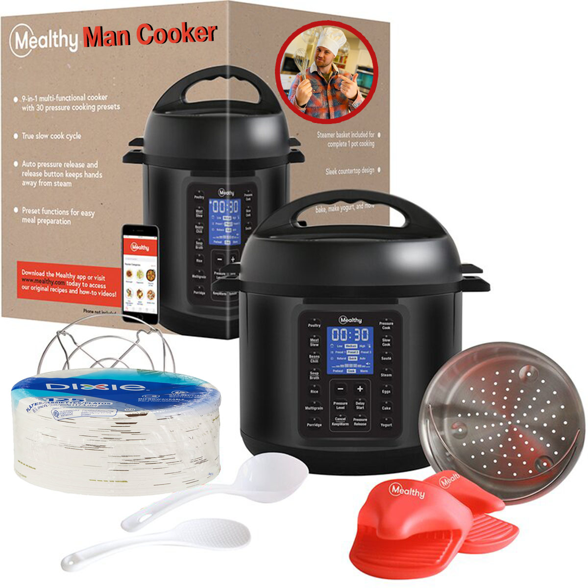 mealthy man cooker