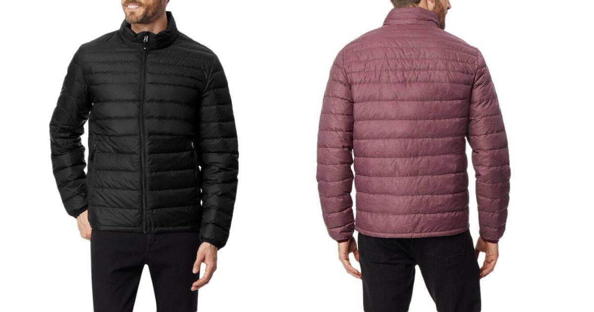 mens nanoheat puffer jacket
