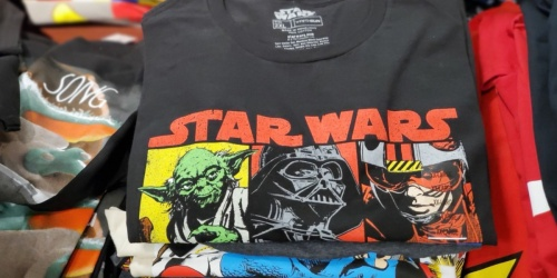 Men's Star Wars & Marvel Tees as Low as $2 on JCPenney (Regularly $20)