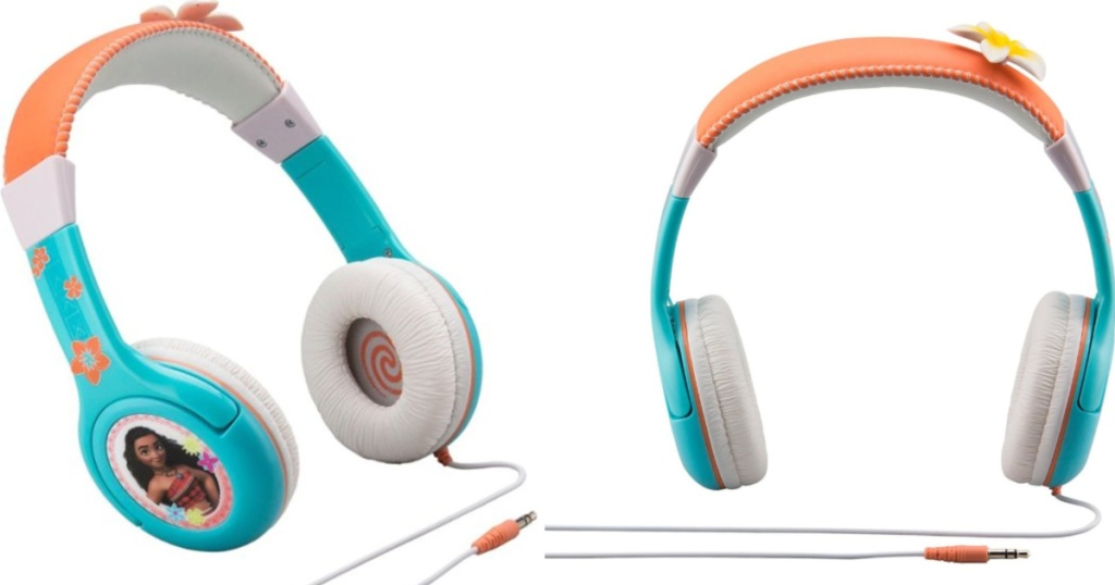 moana headphones side and front views