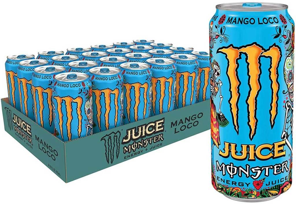 Monster Energy Mango 16 oz Drink 24-pack