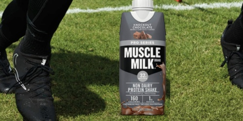Muscle Milk Protein Shake 12-Pack as Low as $8.31 Shipped on Amazon   Just 69¢ Each