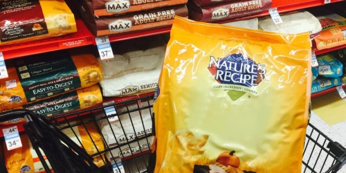 Nature's Recipe Dog Food 15-Pound Bags as Low as $9 Shipped on Amazon