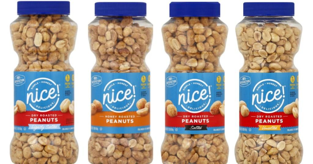 nice! honey and dry roasted peanut jars