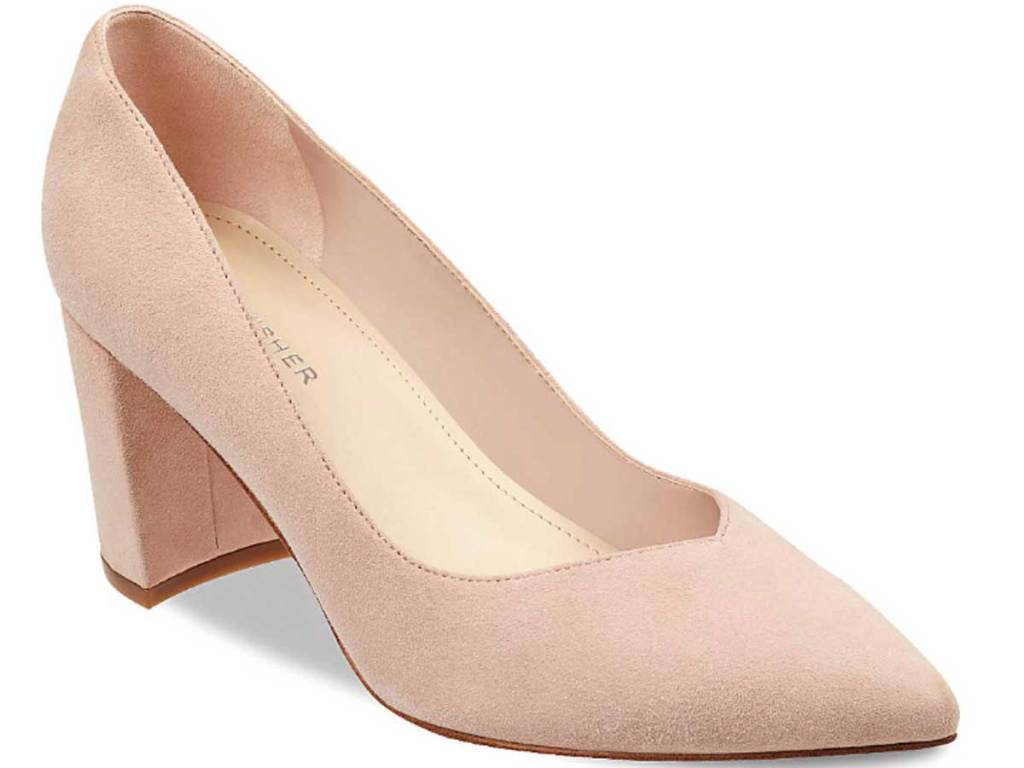 fisher nude pump