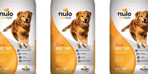 Nulo FreeStyle Adult Trim Dog Food Only $33.81 Shipped on Amazon (Regularly $52)