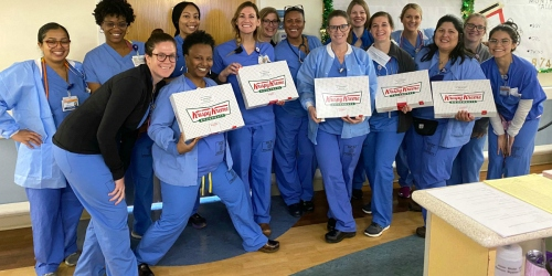 Freebies for Healthcare Workers During Coronavirus Pandemic | Starbucks, Krispy Kreme, Crocs, & More