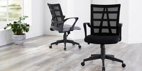 Up to 55% Off Office Chairs at Office Depot + Free Shipping