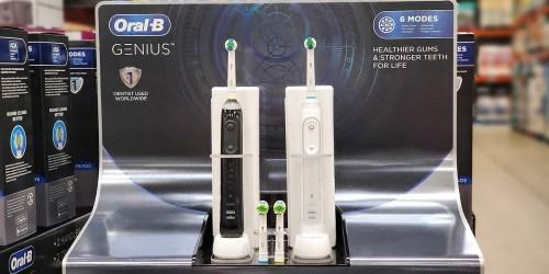 $50 Off Oral-B Genius Toothbrush 2-Pack on Costco.com