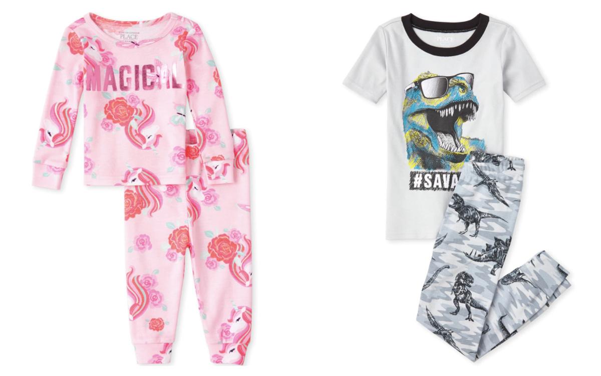 pajamas the childrens place